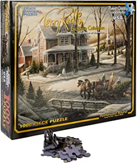 White Mountain Puzzles Exclusive Collection - Homeward Bound by Terry Redlin - 1,000 Piece Jigsaw Puzzle