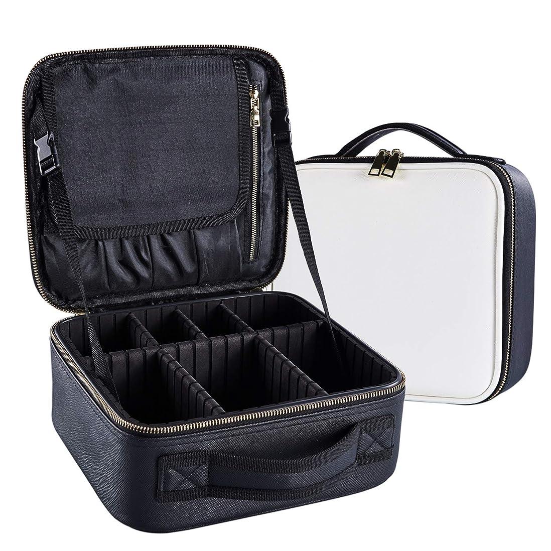 後退する撤回する頼るArcEnCiel メイクボックス プロ用 化粧道具 コスメ収納 化粧箱 收納抜群 大容量 メイクアップ ボックス