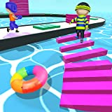Make Shortcut Stack race & run crossy colors big road & hit with minion Players blob giant bridge rush runner 3d to enjoy fun stacky race running game adventure dash story and win heroes tower 3d inc