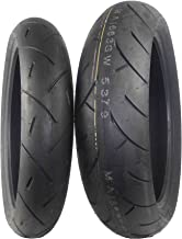 Full Bore M1 Tire Set Tires (1 Front 120/60ZR17 & 1 Rear 160/60ZR17) 120/60-17 160/60-17