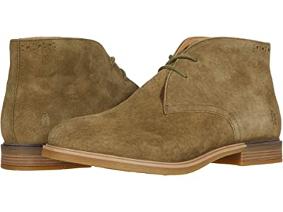Hush Puppies Bailey Chukka Boot (Olive Suede) Women