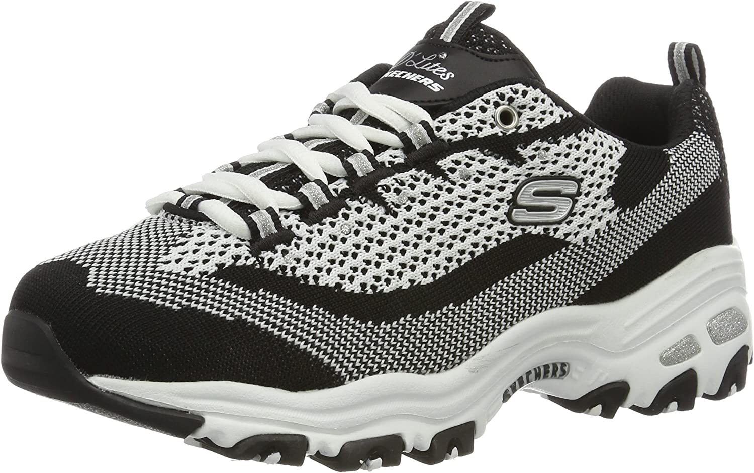 Skechers Womens D'Lites - Reinvention Sneakers