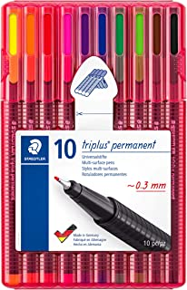ステッドラー 油性ペン トリプラス 10色 331 SB10