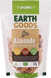 Earth Goods Spanish Organic Almonds, 220g