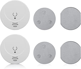 Smartwares FSE-19200 rookmelder/brandmelder met 2 x magneetbevestiging, DIN EN 14604, zuiver wit