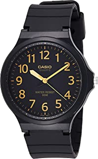 Casio Casual Watch Analog Display Quartz For Men Mw-240-1B2Df, Black Band