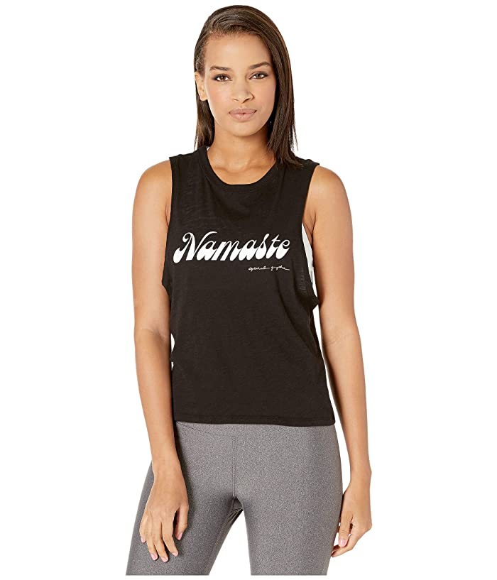 Spiritual Gangster Active Karissa Tank (Black) Women
