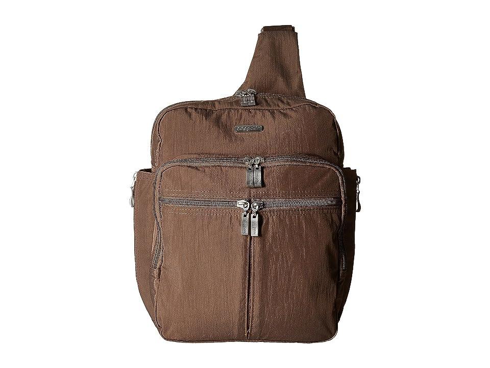 Baggallini Messenger Bag with RFID Wristlet (Portobello) Bags