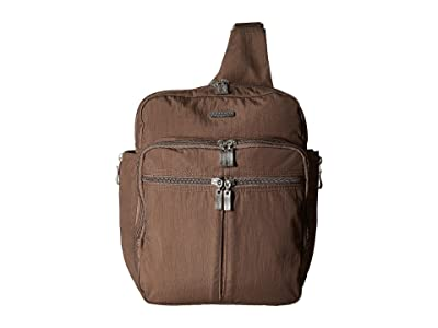 Baggallini Legacy Messenger Bag with RFID Wristlet (Portobello) Bags