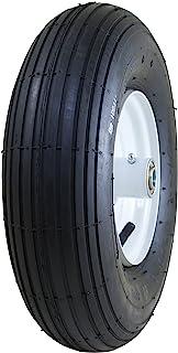 "Marathon 4.00-6"" Pneumatic (Air Filled) Tire on Wheel, 3"" Hub, 5/8"" Bearings"