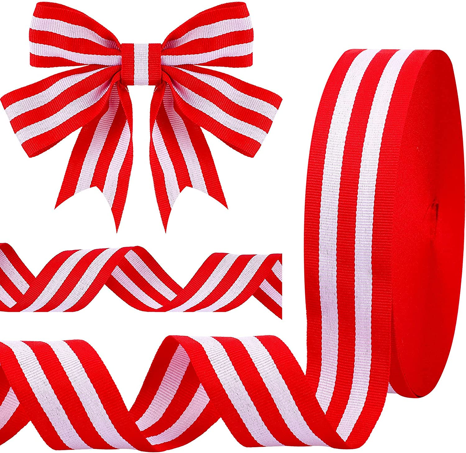 50 OFFicial Ranking TOP12 site Yards Striped Ribbon Grosgrain Wr Fabric Craft