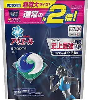 アリエール 洗濯洗剤 ジェルボール3D プラチナスポーツ 詰め替え 超特大 26個