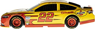Lionel Racing 14451 NASCAR Authentics 2017 Joey Logano #22 Shell-Pennzoil Lionel Racing Diecast, Yellow, Black, Red; 1: 24 Scale