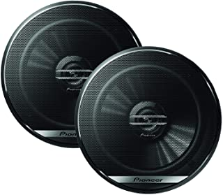 "Pioneer TS-G1620F 6-1/2"" 2-Way Coaxial Speaker 300W Max. / 40W Nom, 12.90In. X 7.40In. X 3.20In, Black"