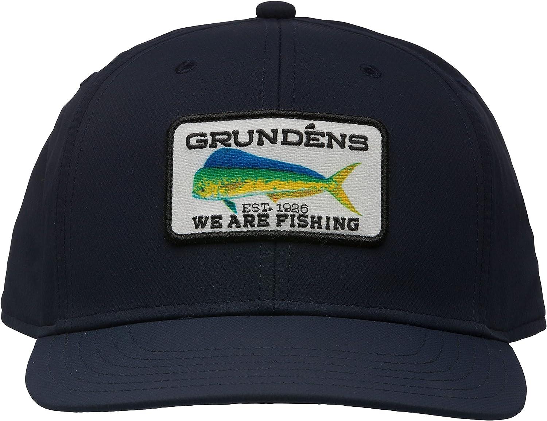Grundens Dorado Trucker Hat, Navy, One Size