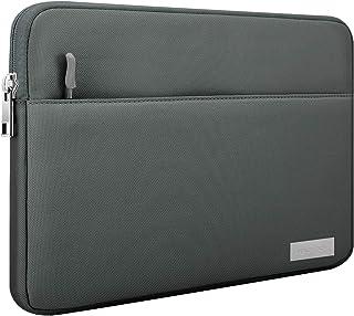 MoKo 9 11 Inch Sleeve Tasche, Schutzhülle mit Reißverschluss 2 Tasche Tablet Polyesterfaser Hülle Kompatibel mit iPad 8 10.2, iPad Air 4 10.9, iPad Air 3 10.5', Surface Go 2, iPad Pro 11   Dunkelgrau