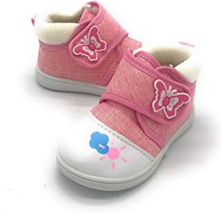 Blue Burry EASY21 New Cute Infant Baby & Toddler Girls Canvas Shoes Sneakers