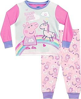 Peppa Pig Pijamas de Manga Larga para Niñas Unicornio