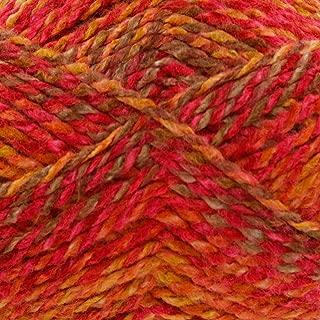 King Cole Corona Chunky Knitting Yarn 100% Acrylic Super Soft Wool 1 x 100g Ball (Cinnabar - 2277)