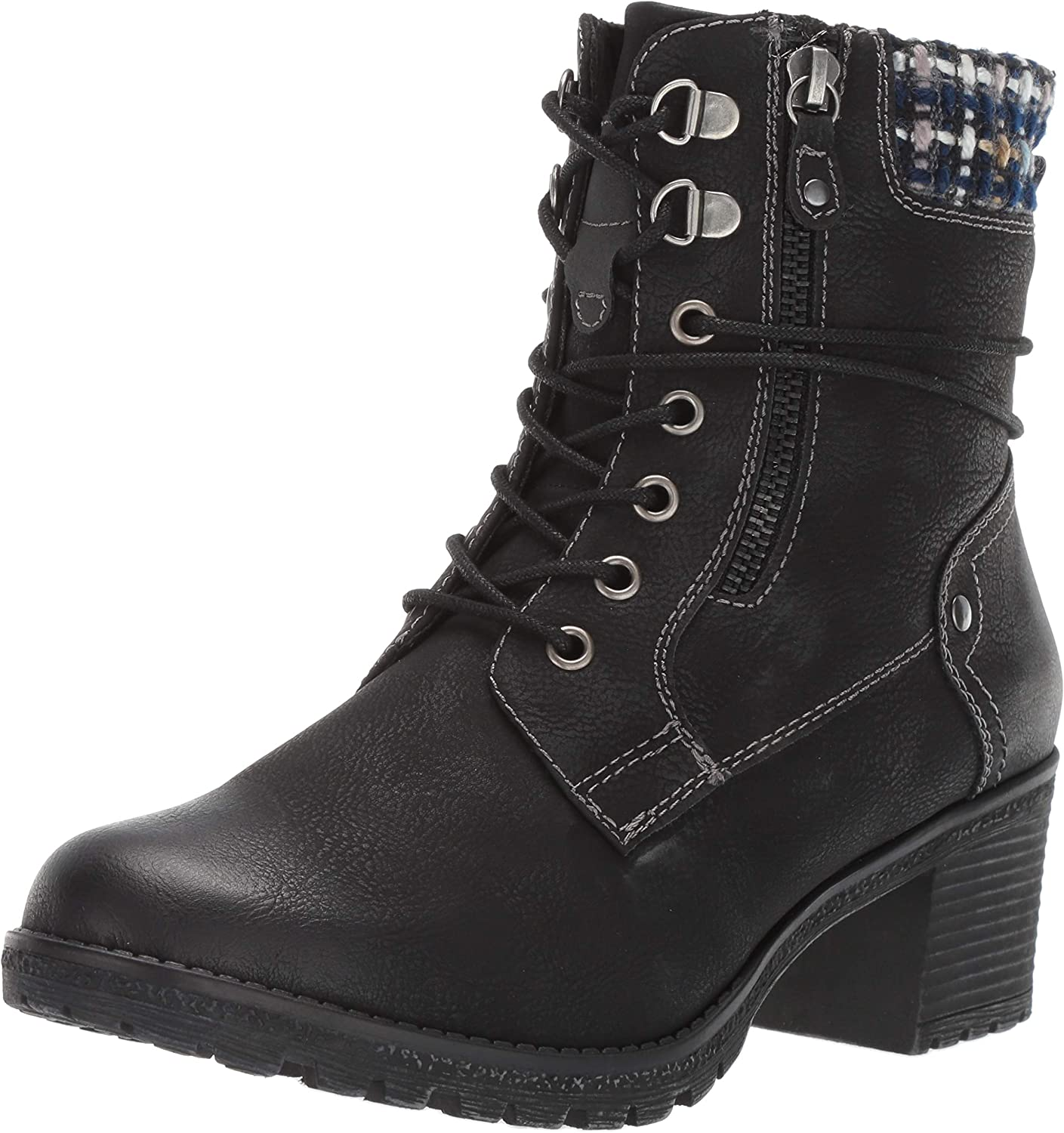 Spring Step Womens Hellewn Combat Boot