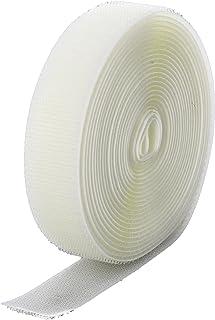 Loop Type VELCRO 1025-AP-PSA//L Beige Nylon Woven Fastening Tape 10 Length Pressure Sensitive Adhesive Back 1-1//2 Wide