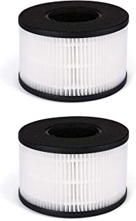 Fette Filter - HEPA Air Replacement Filter, 3-in-1 Filtration System Compatible with PARTU BS-03 Includes Pre-Filter, True...