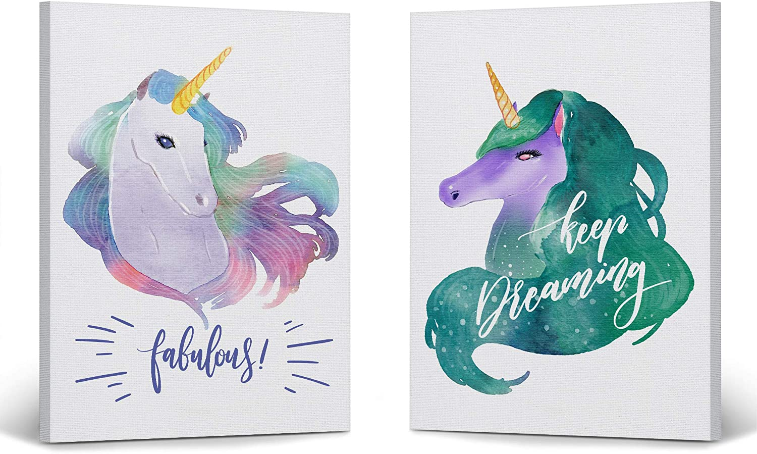 Smile Art Design Watercolor Paint Dreami Manufacturer OFFicial shop Unicorn Wall Decor 2021 autumn and winter new Keep