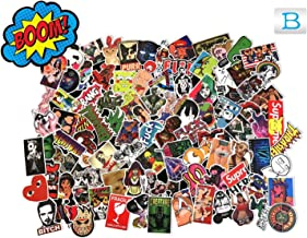 MRX-Planet Sticker Pack (100-Pcs), Sticker Decals Vinyls for Laptop,Kids,Teens,Cars,Motorcycle,Bicycle,Skateboard Luggage,Bumper Stickers Hippie Decals Bomb Waterproof