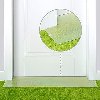 PETFECT Carpet Cat Scratch Protector - 30 Inch Deterrent w/Slip Stopper Doorway Guard Design