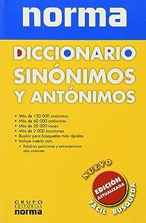 DICCIONARIO SINONIMOS Y ANTONIMOS. EDICION ACTUALIZADA