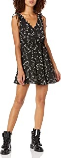 cupcakes and cashmere womens Lida Floral Fit and Flare Dress Casual Night Out Dress