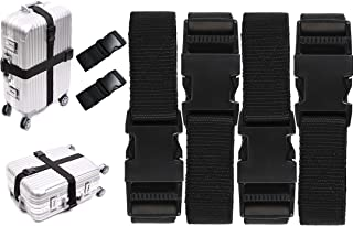 845f94f4b DIY Crafts Luggage Straps Suitcase Lock Belt Strap Black Luggage Straps  Rainbow Color Adjustable Suitcase Belts