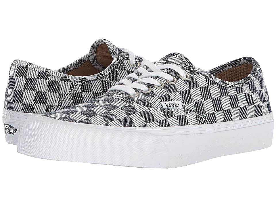 Vans Authentic SF (Checkerboard Denim) Lace up casual Shoes