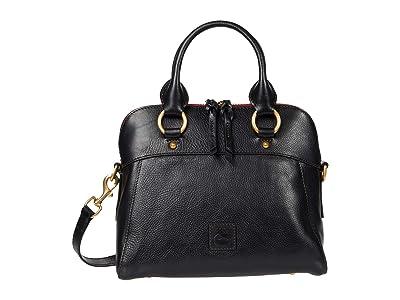 Dooney & Bourke Florentine Cameron Satchel (Black) Satchel Handbags