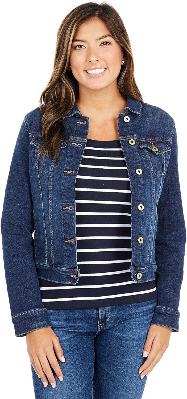 Tommy Hilfiger Women's Stretch Denim Jacket
