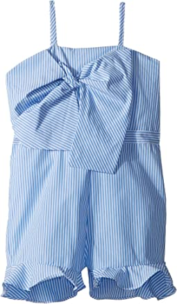 d9563b3931 Bardot Junior. Ruffle Playsuit (Big Kids).  35.99MSRP   79.00. Placid Blue  Stripe