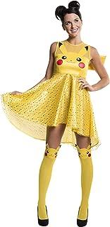 Rubie's Womens 820071 Pokemon Pikachu Costume Dress Adult-Sized Costume