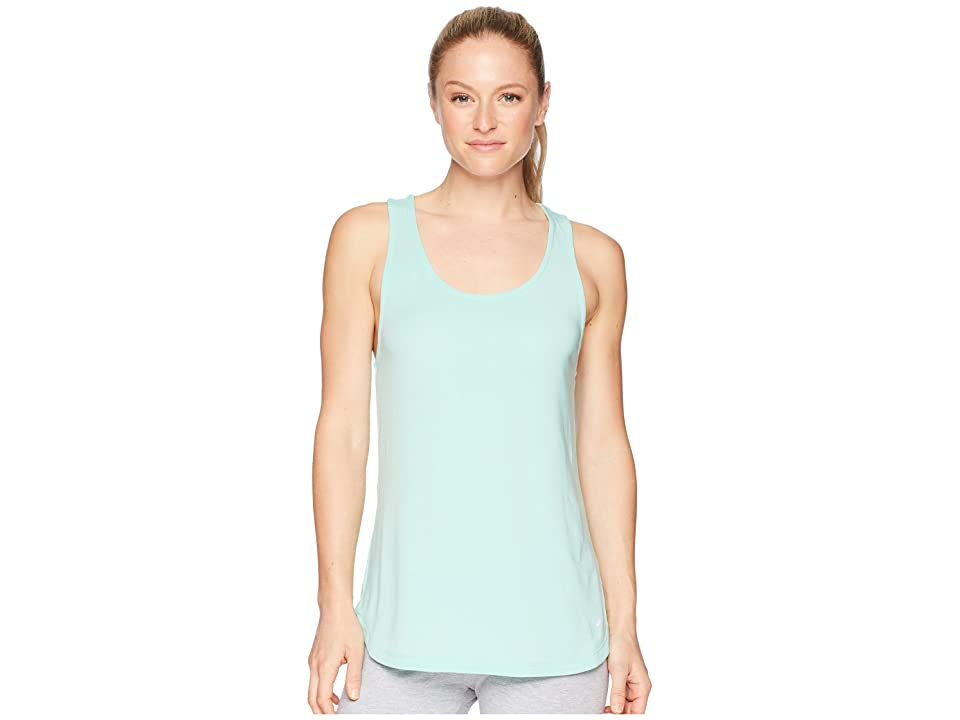 ASICS Flex Tank Top (Opal Green Heather) Women