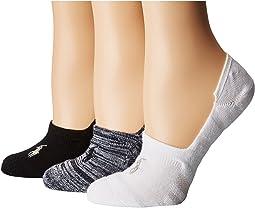 LAUREN Ralph Lauren Marl Sneaker Liner 3-Pack