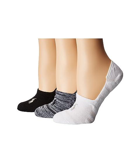 3 Lauren Marl Ralph Pack blanco negro Sneaker Liner LAUREN CvqAwUW