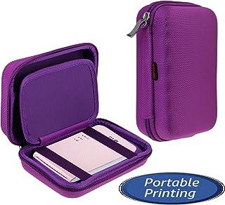 Navitech Étui Violet Compatible avec LG Portable Mobile Pocket Photo PD241 PD241T