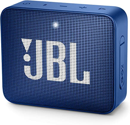 JBL GO 2 Portable Bluetooth Waterproof Speaker (Deep Sea...