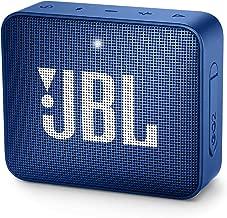 JBL GO 2 Portable Waterproof Bluetooth Speaker (Navy Blue)
