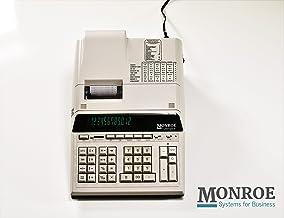$169 » (1) Monroe 12-Digit Print/Display Genuine Monroe UltimateX, Our Top-of-The-Line Heavy-Duty Calculator in Ivory