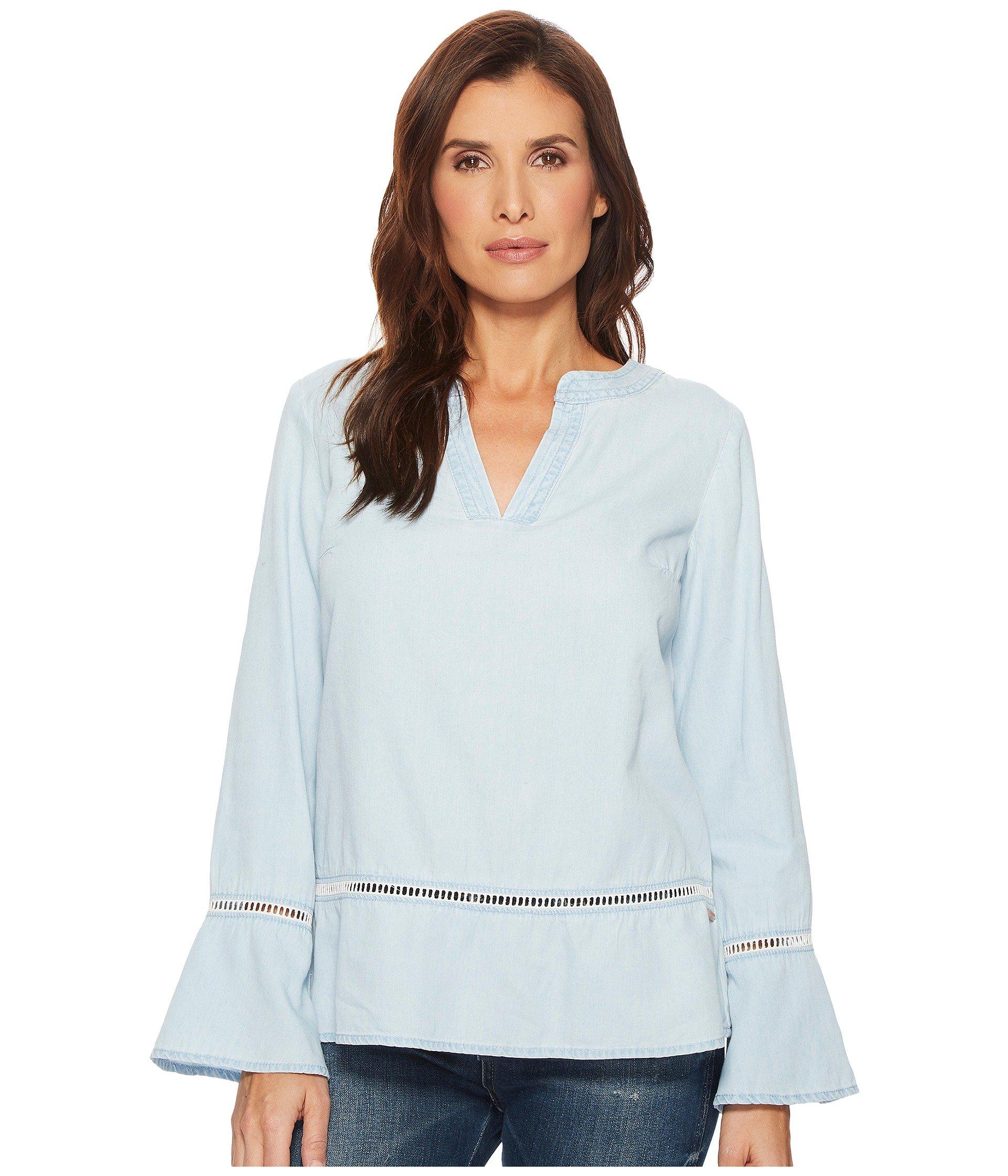 Blusa para Mujer U.S. POLO ASSN. Bell Sleeve Shirt  + U.S. POLO ASSN. en VeoyCompro.net