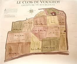 Clos De Vougeot Map