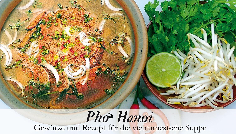 Pho Hanoi – 20 Gewürze Set für die vietnamesische Suppe 20g – in ...