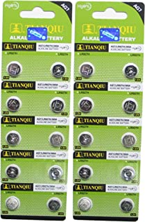 AG7 395A LR927 SR927SW LR57 SR927 Button Cell Batteries [20-Pack]