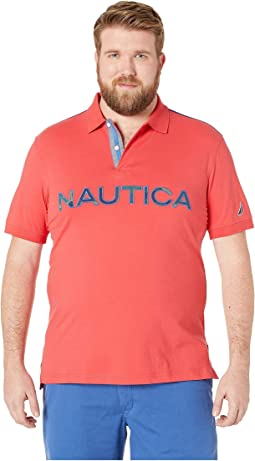 Big & Tall Kauai Logo Polo