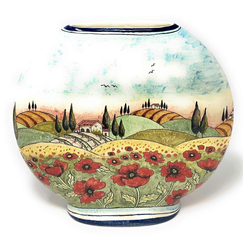 CERAMICHE cheap D'ARTE PARRINI Max 50% OFF - Italian Ceramic Vess Art Pottery Vase